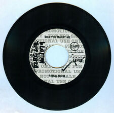Philippines PAULA ABDUL Will You Marry Me 45 rpm PROMO Record