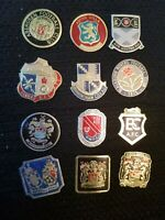 Esso 1970s Foil Football Badges - Various Teams - Buy 2 & Save