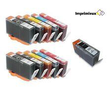 11x Imprimieux Cartouche Encre 564XL Avec Puce Compatible Pour HP Photosmart