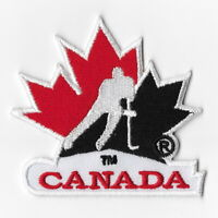 NHL Canada Hockey Team Iron on Patches Embroidered Patch Applique Badge White