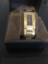 mens gold gucci watch