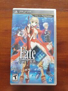 PSP Fate Extra NTSC English Fate/Extra (Sony PSP, 2011)
