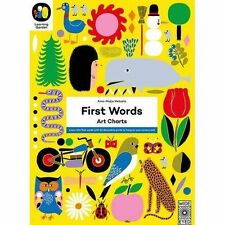 First Words: Art Charts (The Learning Garden),Metsola, Aino-Maija,New Book mon00