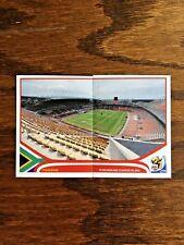 PETER MOKABA STADIUM PANINI STICKERS, WORLD CUP SOUTH AFRICA 2010 #SA20-21