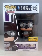 Funko Pop Heroes 120 Steampunk Batman Hot Topic Exclusive