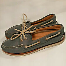 SPERRY Top-Sider GOLD CUP Navy Blue Premium Leather Boat Shoes NICE Men's Sz 7 M