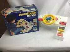 Child Guidance Electronic Super Sound Driver with Real Car Sounds & Lights 1983