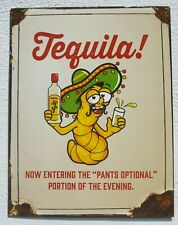 Tequila Retro Design Bistro Bar USA Metall Deko Plakat Schild