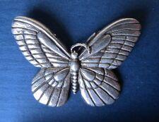 Sterling Silver Butterfly Pin Brooch ~FREE  Gift Box~ 14gr