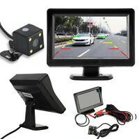 4.3 TFT LCD Car Rear View Mirror Cam Monitor Night Vision Reverse Camera Sensor