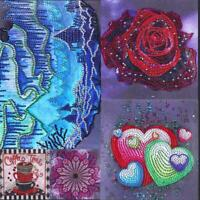 5D DIY Special-shaped Diamond Painting Cross Canvas Stitch Embroidery Home Art