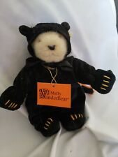 Vintage EARLY Muffy VanderBear 1982 Black Cat Costume North American Bear CO.