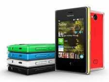 Original Nokia Asha 503 Single Dual Sim Unlocked 4GB ROM 3'' 5MP 3G WIFI GPS