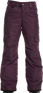 686 Girls Lola Insulated Snowboard Pant (S) Blackberry L9W802-BBRY
