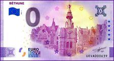 UE VA-1 / BETHUNE / BILLET SOUVENIR 0 € / 0 € BANKNOTE 2021-1