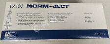 AirTite NORM-JECT Latex Free Luer Lock Syringes 10ml 12ml 100/BX 4100-X00V0 10cc