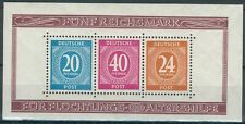 Alliierte Besetzung/German Post 1946 2x1 Item/Block Mi.-Nr.12 A+B**