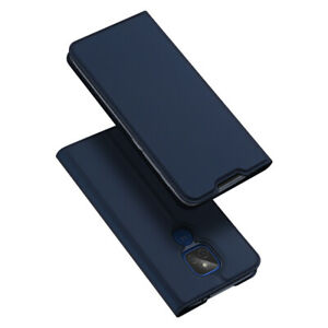 For MOTO G9 Play E7 Plus G9 Power Case Cover PU Fashion Leather Flip Stand Card