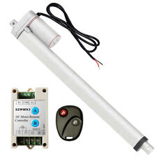 Linear Actuator 18 Stroke 220lbs 100kg Load 12v Dc Motor With Wireless Controller