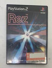Rez (Sony PlayStation 2, 2002) - Japanese Version