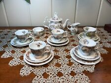 Brambly Hedge Royal Doulton Miniature Tea Set 4 Seasons + The Birthday 19 Pcs