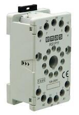 Relaissockel 11-pol rund RS1P11G1 kompatibel zu Finder, Schrack, Siemens, ...