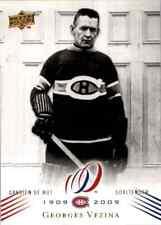 2008-09 Upper Deck Montreal Canadiens Centennial Set Georges Vezina #44