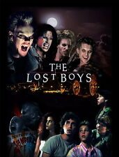 "017 The Lost Boys - 1987 American Horror Film Movie 14""x18"" Poster"