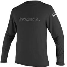 O'Neill Men's Basic Skins Rash Guard Long Sleeve Sun Shirt Upf 50+ (Xl)