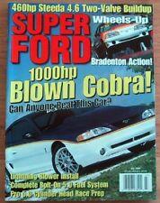 SUPER FORD 1998 JULY - ROUSH, LIGHTNING, 428SCJ PONY