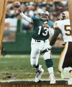 Dan Marino Miami Dolphins Photofile Licensed NFL Photo 8x10 Teal Jersey