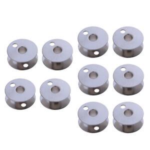 Bobines de machine à coudre de canette en métal 10 pièces pour fil Brother