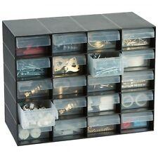 20 Multi Drawer Storage Cabinet Unit Screw Nail Craft Organiser Home/Garage