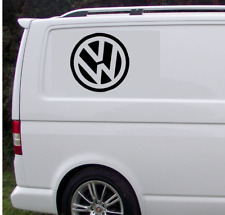 """VOLKSWAGEN VW Calcomanía Extra Grande 17"""" con logotipo gráfico X2 Transporter T5 T4 caravanas"""