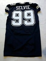 #99 George Selvie of Dallas Cowboys NFL Locker Room Player Issued Jersey
