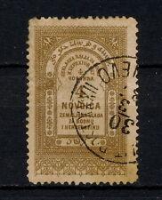 (YYAH 220) Bosnia Herzegovina 1887 Sebajevo cancel Revenue Fiscal Austria