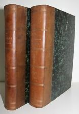 LA CHRONIQUE HORTICOLE 1900-1901 Tête de collection N°1 à 127 en 2 vol. reliés