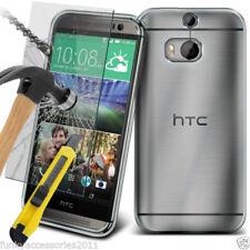 Fundas y carcasas Para HTC One M8 color principal transparente para teléfonos móviles y PDAs
