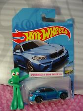 2016 BMW M2 #121 Int'l ✰candy blue; gray pr5✰2018 i Hot Wheels WW case H