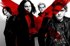 """08 My Chemical Romance - American Rock Band Music Star 36""""x24"""" Poster"""