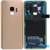 Akkudeckel mit Linse für Samsung Galaxy S9 G960 Backcover Gold