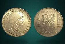 ALBANIA 1940 COIN - 0.20 LEK MAGNETIC - ITALY OCCUPATION - 105