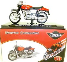 Norton Commando 750 1969 Motorcycle Classic Atlas 4658103 Neu 1:24 OVP HR1 µ