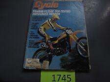 DECEMBER 1978 CYCLE MAGAZINE YAMAHA YZ250F, MONTESA ENDURO 360H