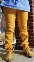 NATIVE AMERICAN HANDMADE LEATHER COWHIDE ORIGINAL PANTS TROUSER FRINGES JEANS
