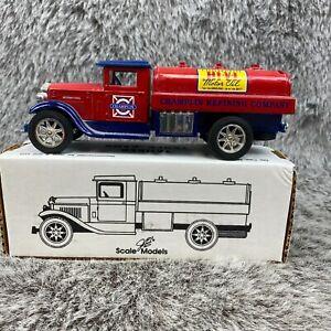 Chemplin HI-V-I Motor Oil Die Cast Bank International Vintage 1994 NOS