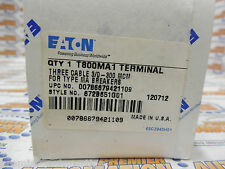 EATON, T800MA1, LUG FOR CIRCUIT BREAKER COPPER 3 O-300MCM (NIB)!!!!