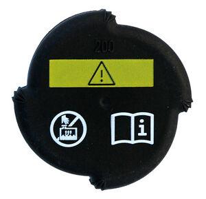 Radiator cap fits BMW X5 E53 MAHLE 1742231 17111712669 2 bar