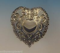Chantilly by Gorham Sterling Silver Candy Dish Heart-Shaped #966 (#0319)