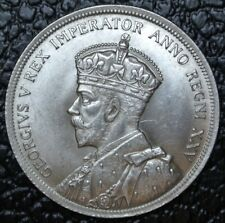 CANADIAN GEM 1935 - $1 DOLLAR - .800 SILVER - George V - HIGH GRADE